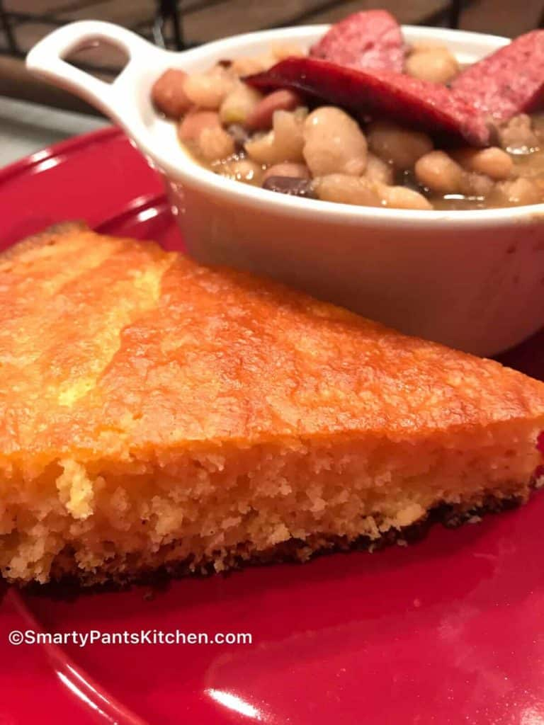15 Bean Soup and cornbread