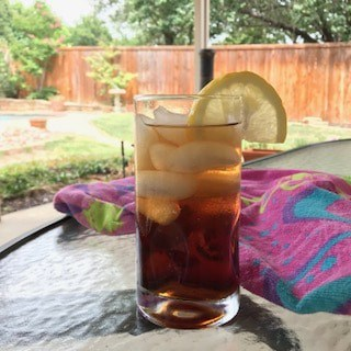 homemade sweet tea