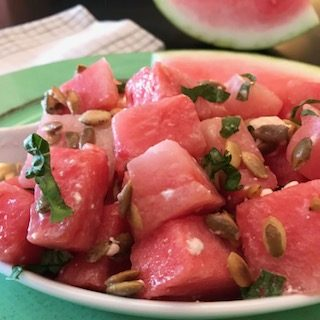 watermelon seed salad