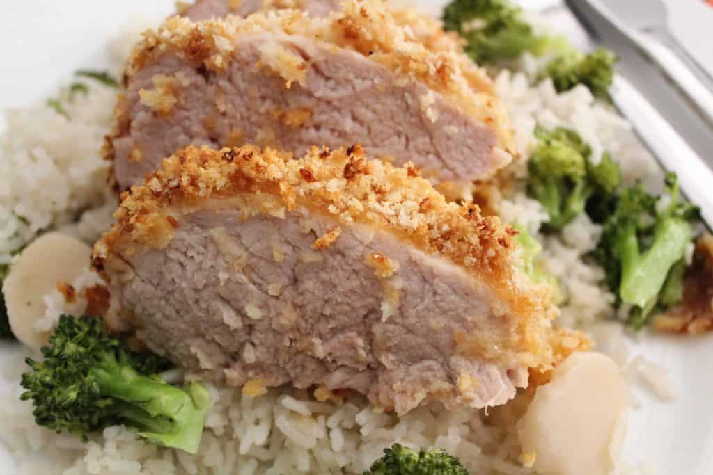 Panko Crusted Pork Tenderloin