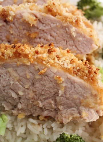 Panko Crusted Pork Tenderloin