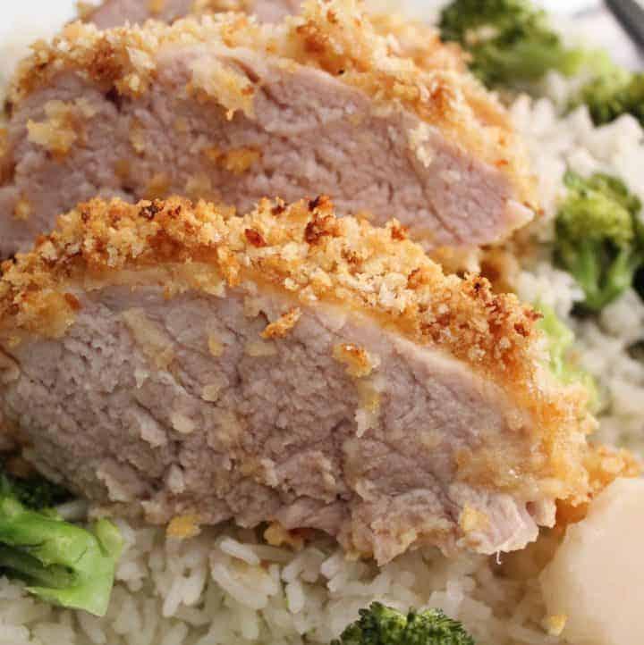 Crispy Panko Pork Tenderloin