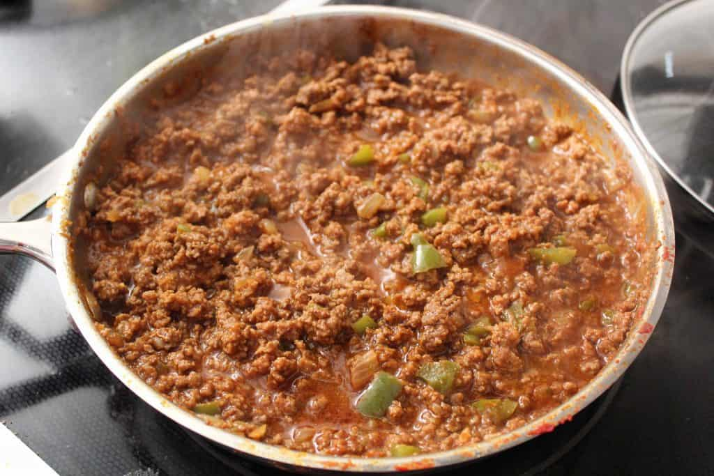 Sloppy Joe Sauce on Stovetop