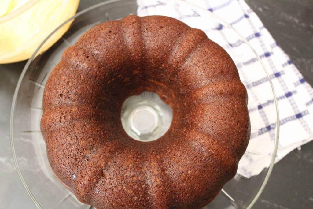 Cinderella Cake in Bundt Pan