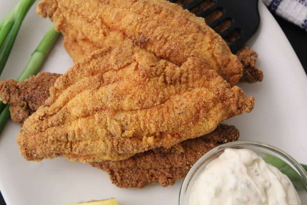Fried Catfish and Tartar Sauce