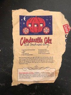 Cinderella Cake Original Recipe