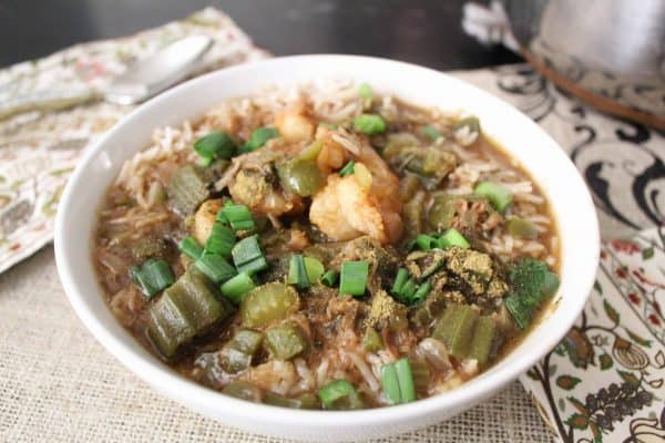 Bowl of Seafood Gumbo