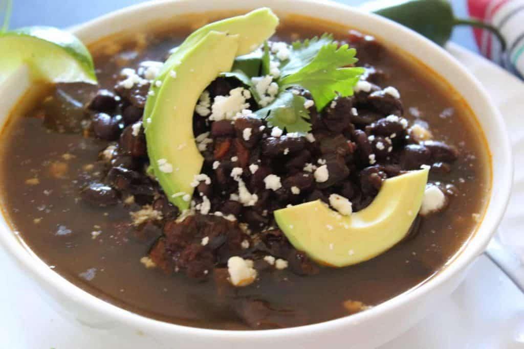 Black Bean Skinny Soup