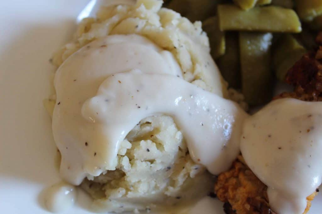 Chicken Fried Steak and Cream Gravy