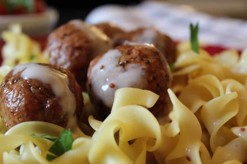 Swedish Meatballs and Sauce