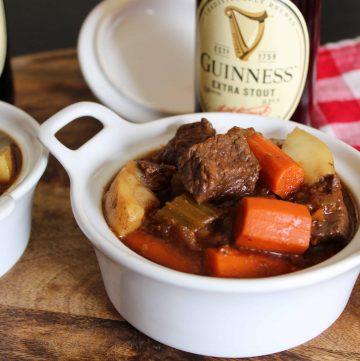 Irish American Guinness Stew