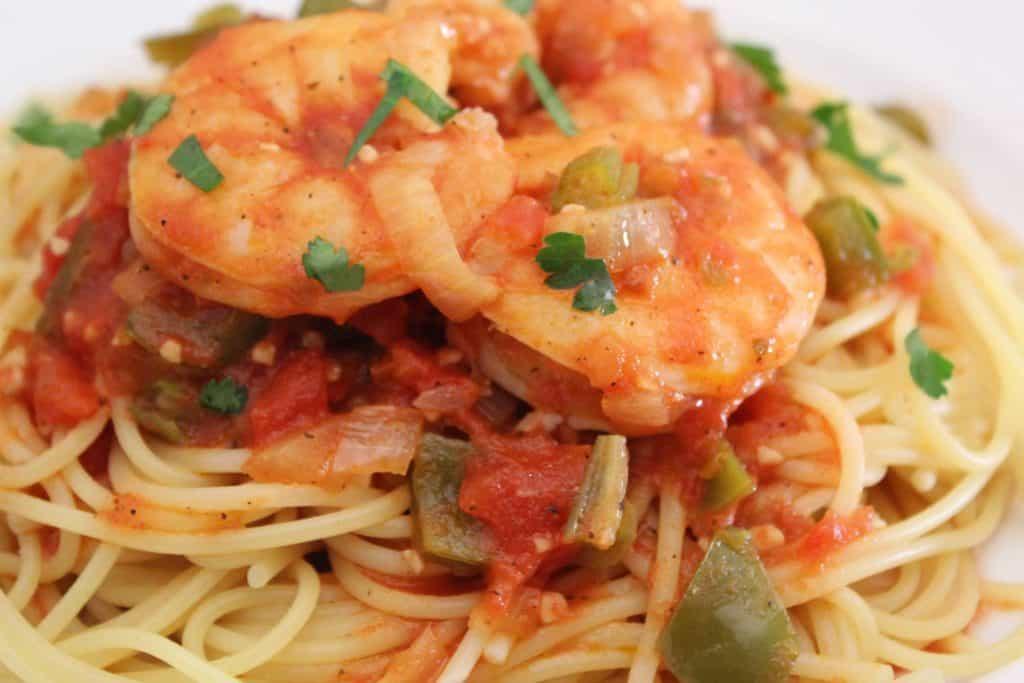 Creole Shrimp Pasta