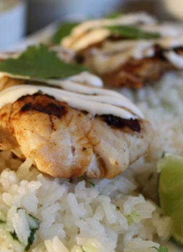 Fish with Asian Marinade