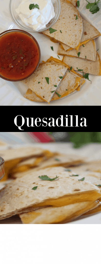 Makes quesadillas on cinco de mayo