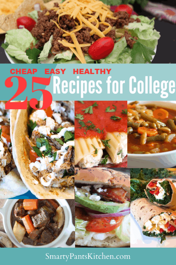 25 Cheap Healthy Dinner Recipes for College Students