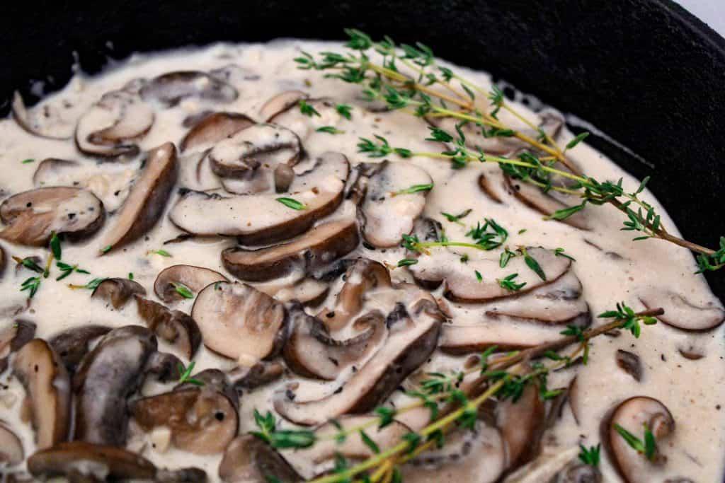 Mushroom Cream Sauce