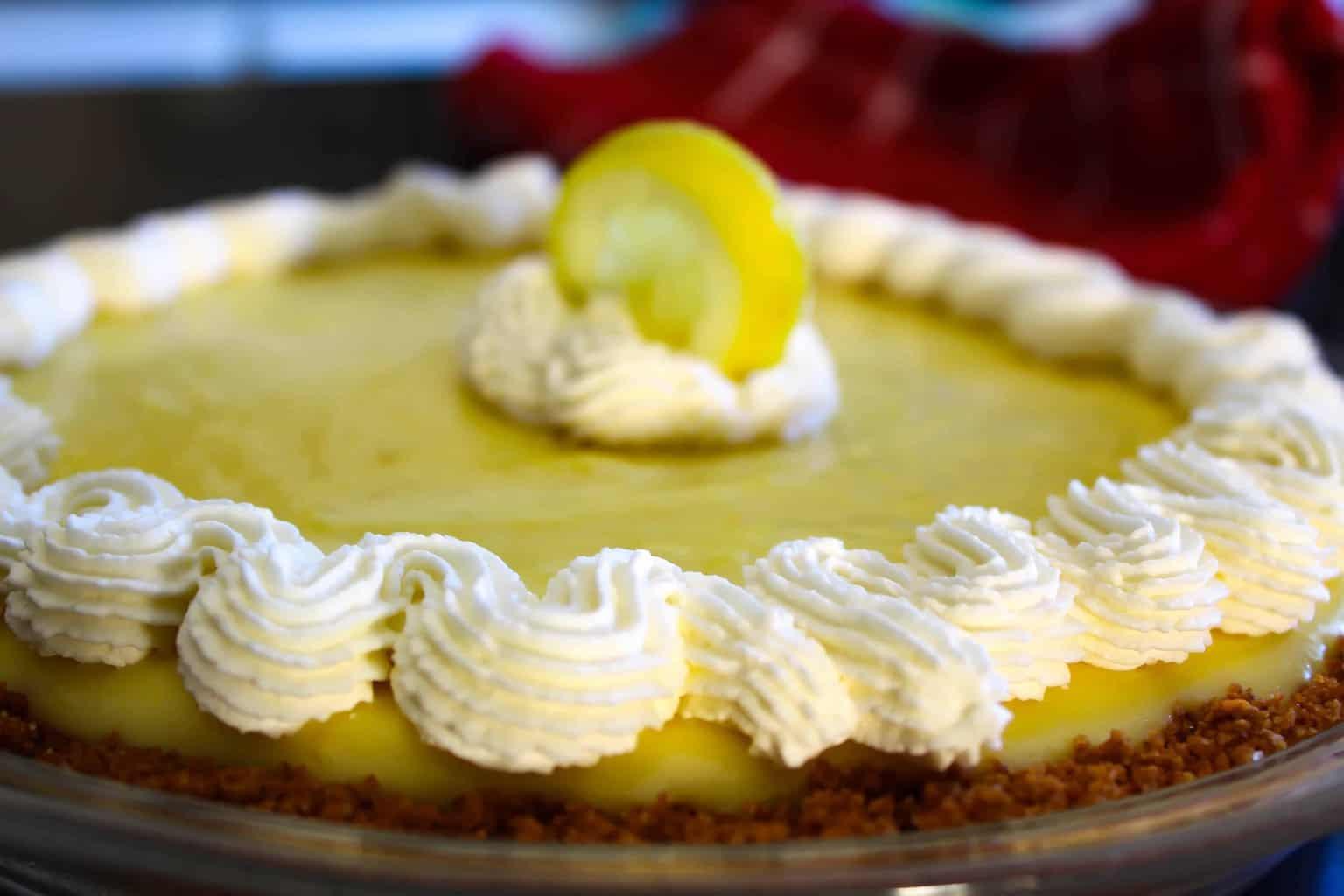 No Bake Lemon Icebox Pie