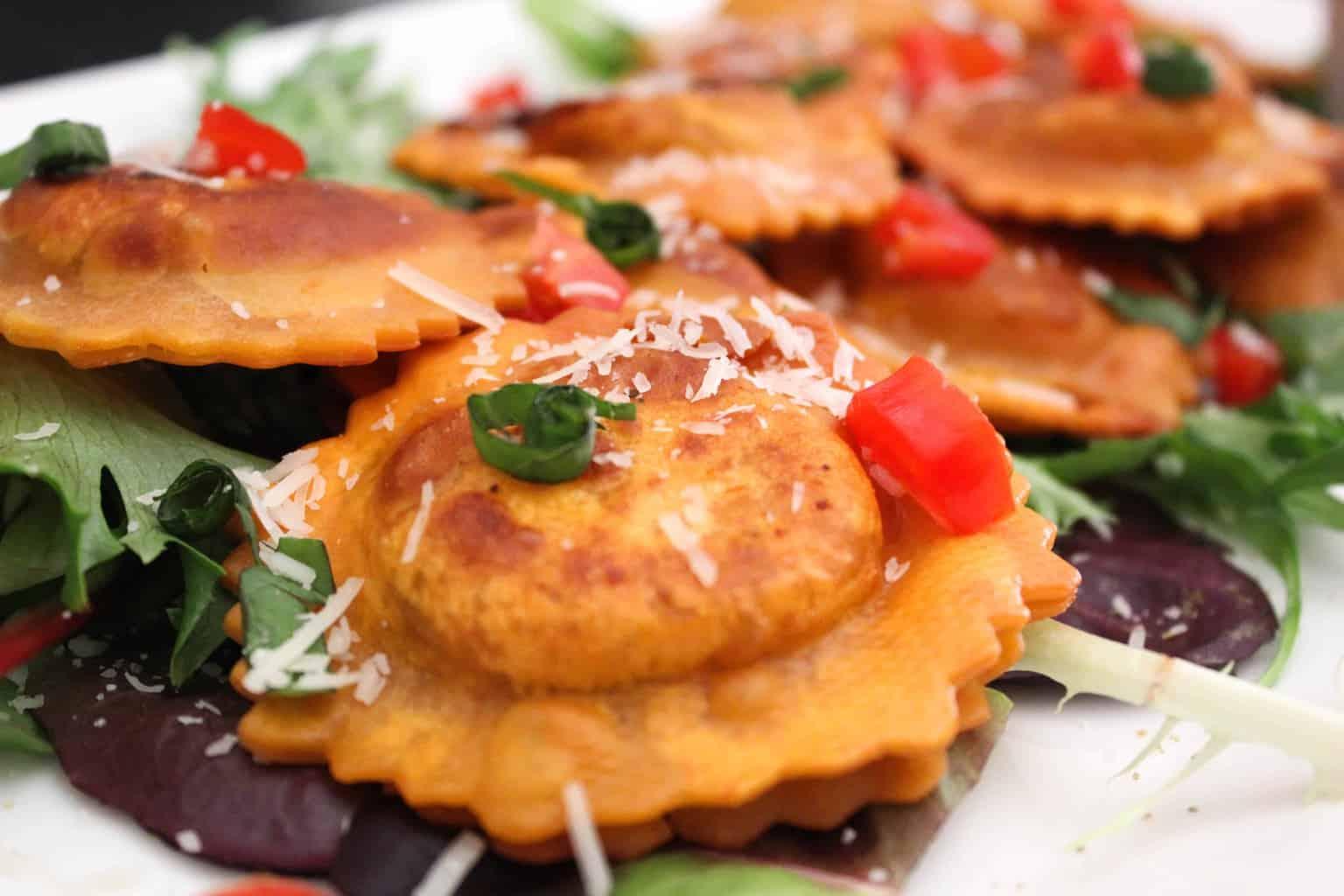 Easy Pan Fried Ravioli Appetizer