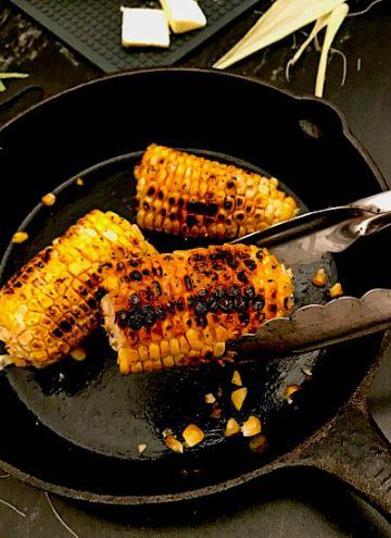 Pan Roasted Corn on the Cob