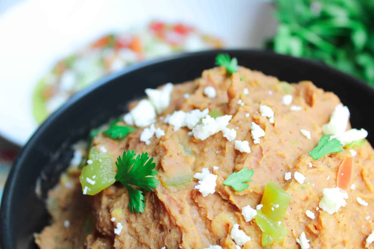 Restaurant Quality Canned Refried Beans